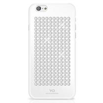 Capa iPhone 6S/6 The Rock White Diamonds - Branco