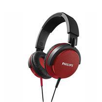 Fone de Ouvido Philips SHL-3100 40MM DJ Vermelho