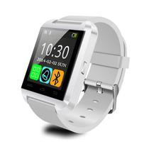 d1492c39d2b Relogio Smartwatch U8 Touch Bluetooth Branco