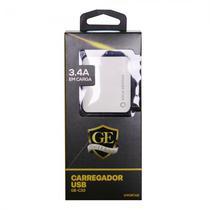 Carregador Gold Edition GE-C33 3 Portas USB 3.4A