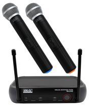 Microfone Sem Fio Duplo Uhf BLG TM-UF02