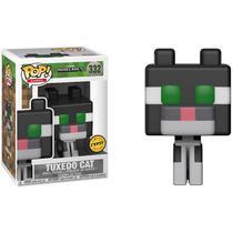 Boneco Funko Chase Minecraft - Tuxedo Cat 332