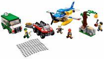 Lego City Mountain River Heist 60176 387 Pecas