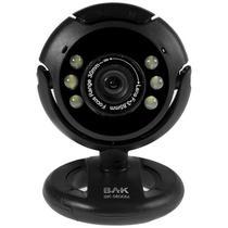 Webcam BAK BK-5800M USB 2MP 30FPS - Preta
