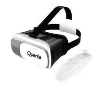 Oculos de Realidade Virtual Quanta QTO3D5 com Controle Preto/Branco