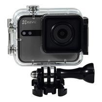 "Camera de Acao Ezviz S1C SP206 8MP/Full HD Tela 2.0"" Touch com Wi Fi/Bluetooth - Cinza"