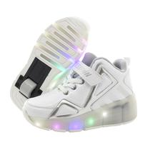 Tenis Roller LED Branco #37