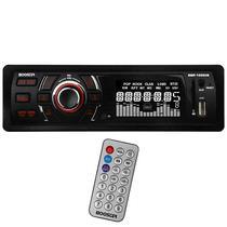 Toca Radio Automotivo Booster BMP-1350UB com USB/SD/Auxiliar - Preto