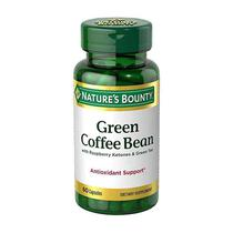 Natures Bounty Green Coffe Bean With Raspberry 60 Capsulas