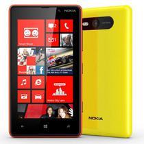 Celular Nokia Lumia 820 4BD 1 Chip Amarelo