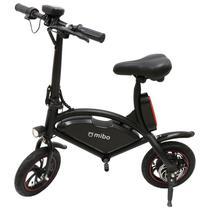 """Bicicleta Eletrica e-Bike Mibo com Rodas de 12"""" 36V 250W - Preto (Sem Pedal)"""