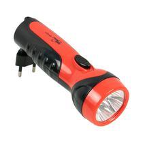 Lanterna Ecopower EP-8311 - Recarregavel - Bivolt - Preto e Vermelho