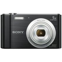 Câmera Digital Sony DSC-W800 - 20.1 Megapixels - Preto