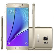 """Smartphone Samsung Galaxy Note 5 SM-N920C 32GB Lte 1SIM Tela 5.7"""" Cam.16MP+5MP-Dou/Eu"""