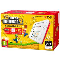 Console Nintendo 2DS Branco Bundle Mario Bros 2