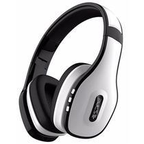 Fone de Ouvido Multilaser Pulse PH152 Bluetooth / Cabo Aux / Microfone - Branco e Preto