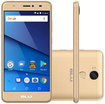 "Smartphone Blu Studio J8 Lte Dual Sim Tela 5.5"" 8GB Cam. 8MP+5MP Dourado"
