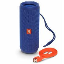 Caixa de Som JBL Flip 4 Bluetooth Azul
