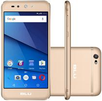 "Smartphone Blu Grand X Lte Dual Sim Tela 5.0""HD Cam. 8MP+5MP Dourado"