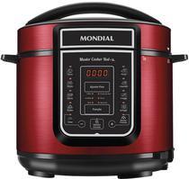 Panela de Pressao Eletrica Digital Mondial Master Cooker Red 5L - Vermelho/Inox - 220V/60H