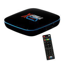 Receptor Xfull TV Iptv / 8GB / 2GB Ram / 4K / TV App / Android 6.0 / Controle Gun - Preto