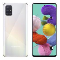 Smartphone Samsung A51 A515F 4/128GB / Tela 6.5 / Cameras de 48MP + 12MP + 5MP + 5MP e 32MP - Branco