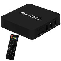 TV Box Audisat MXQ 4K com Wi-Fi/HDMI/USB/Os Android 7.1 - Preto