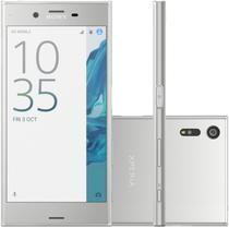 "Smartphone Sony Xperia XZS G8232 4GB/64GB Lte Dual Sim Tela 5.2"" Cam.19MP+13MP-Prata"