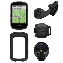 GPS Garmin Edge 530 MTB Bundle 010-02060-20 com Tela 2.6/Wi-Fi/Bluetooth/IPX7 + Sensor - Preto