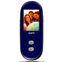 Tradutor de Voz Digital Quanta QTTVW300 com Wi-Fi/Tela Touch - Preto
