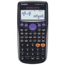 Calculadora Cientifica Casio FX-82ES Plus 252 Funciones Preto
