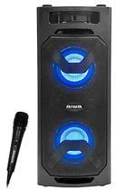 Caixa de Som Aiwa AWPOK5 - 400W Pmpo BT/ USB/ MP3/ FM/ Aux + Microfone - Preto