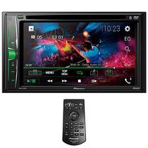 """Reprodutor de DVD Automotivo Pioneer AVH-A215BT 6.2"""" com Bluetooth/USB/FM/AM - Preto"""