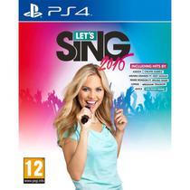 Jogo Lets Sing 2016 PS4