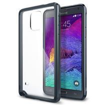 Capa para Galaxy Note 4 Ultra Hybrid Gunmetal