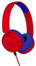 Fone de Ouvido com Fio JBL JR300 Vermelho