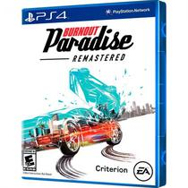 Jogo Burnout Paradise Remastered PS4