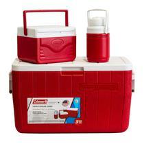 Conservadora Coleman 3000000024 Kit 48 QT Rojo