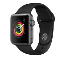 Relogio Apple Watch S3 MTF02LL/A Sport 38MM Cinza - Preto
