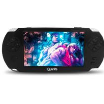MP5 Game Player Quanta QTMPG500 4GB 5 USB Cam FM 3MP-Preto