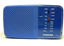 Radio Portatil Toshiba AM-FM TX PR20S Azul