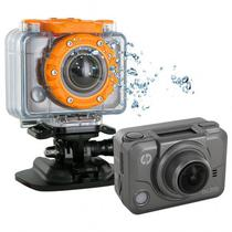 Camera HP AC200W 5MP Wifi FHD Cinza