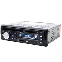 Toca CD Automotivo BAK BK-CD595SD 1200W com USB/MP3/SD/MMC - Preto