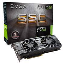 Placa de Vídeo EVGA GTX1060 SSC Gam 6GB/DDR5/192B/1607MHZ (06G-P4-6267-KR)