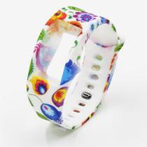Pulseira 4LIFE de Silicone para Samsung Galaxy Gear Fit 2 - Grande - Design 5