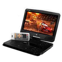"""DVD Portatil BAK BK-DVD-1019ISDBT de 10.1"""" com USB/SD/FM - Preto"""