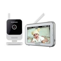 """Baba Eletronica Samsung SEW-3042W - Tela 5""""/ 2.4GHZ - Branco"""