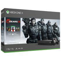 Console Xbox One X 1TB Bundle Gears 5 - Preto