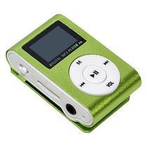 Reprodutor MP3 X-Tech XT-MP801 com Display LCD e Slot para Micro SD - Verde