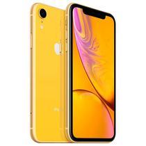 "Apple iPhone XR A1984 64GB Tela Liquid Retina 6.1"" 12MP/7MP Ios - Amarelo"
